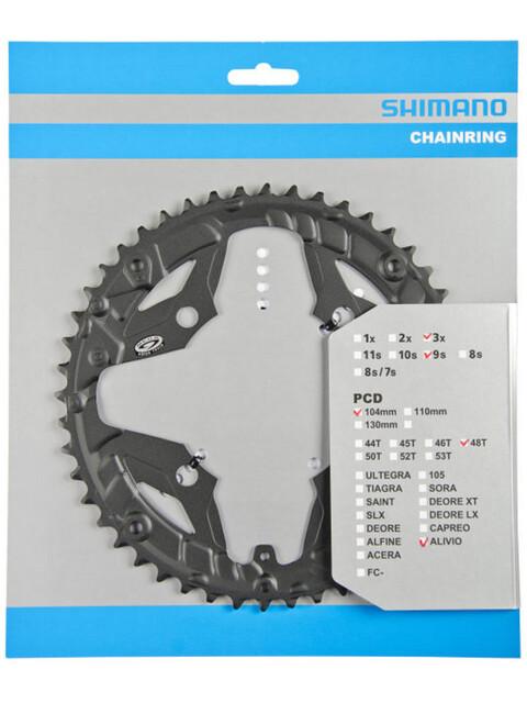 Shimano Alivio FC-M431 Kettenblatt für KSR 9-fach schwarz